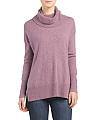 Cashmere Long Sleeve Cowl Neck Sweater