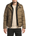 Down Hooded Coat