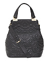 Leather Modern Muse Quilted Tote