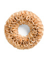 18in Natural Woodchip Wreath