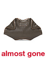Made In Italy Leather Small De Manta Clutch