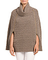 Virgin Wool Blend Sinah Cape