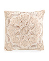 20x20 Medallion Center Pillow