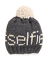 Made In Italy Selfie Pom Hat