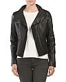 Leather Lightweight Jacket