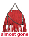 Made In Italy Tiny Bella Fringe Crossbody