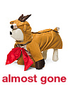 Reindeer With Bow Dog Costume