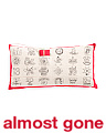 14x27 Christmas Advent Calendar Pillow
