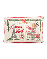 14x20 Faux Linen Paris Postcard Pillow