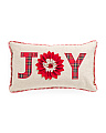 14x24 Joy Applique Pillow