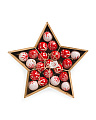 21pc Assorted Ornaments In Star Box