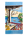 New Yorker Sailboat Beach Towel