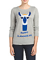 Happy Llamakkah Sweater