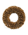 22in Woodchip Mix Wreath