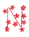6ft Yarn Star Holiday Garland