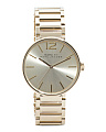 Women's Peggy Gold Tone Sunray Dial Watch