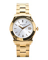 Men's Swiss Made 1898 Bracelet Watch In Gold Ip
