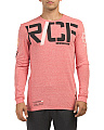 Crossfit Long Sleeve Triblend Top