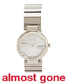 Women's Swiss Made Diamond Interlock G Bezel Bracelet Watch