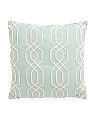 20x20 Lattice Ribbon Pillow