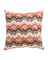 22x22 Linen Contemporary Pillow