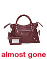 Made In Italy Giant 12 Town Leather Satchel