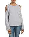 Cold Shoulder French Terry Sweater