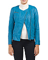 Garment Wash Leather Jacket