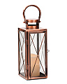 LED Copper Lantern
