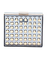 Studded Lucite Clutch