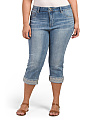 Plus Emma Crop Jeans