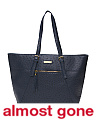 Textured Workbook Large Tote