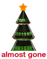 Crystal Christmas Tree Paperweight