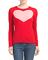 Cashmere Heart Intarsia Sweater