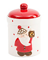 17oz Santa Ceramic Jar Candle