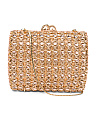 Rose Gold Hardcase Clutch