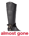High Shaft Buckle Rain Boots