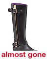 Buckle High Shaft Rain Boots
