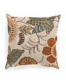 18x18 Large Floral Pattern Pillow