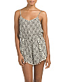 Pom Pom Romper Cover-Up