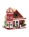 Yuletide Cottage Bird House