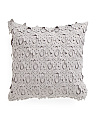 20x20 Layered Lace Pillow