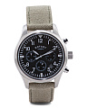 Men's Chronograph Canvas Strap Watch