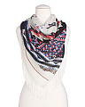 Tribal Pattern Scarf