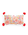 Floral Reversible Pillow