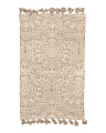 Made In India Rug With Tassels