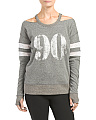 Cold Shoulder Pullover Sweatshirt