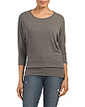 Dolman Sleeve Banded Top