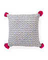 Made In India 26x26 Deco Euro Pillow