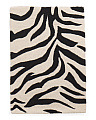 Made In India Wool Tufted Zebra Area Rug